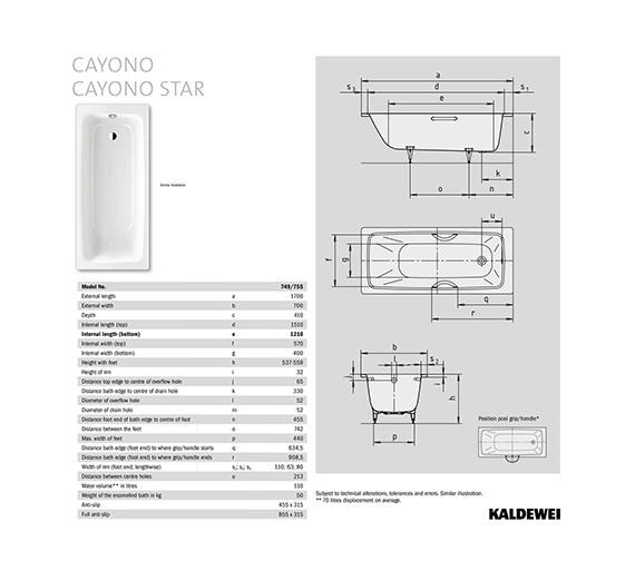 Technical drawing QS-V75936 / 274900010001