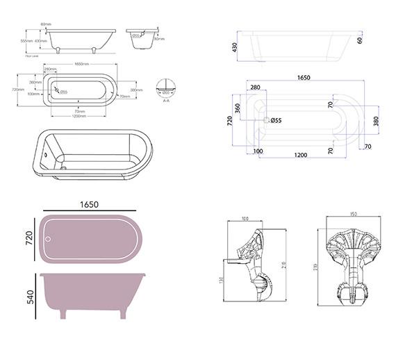 Technical drawing QS-V76033 / BPHW01