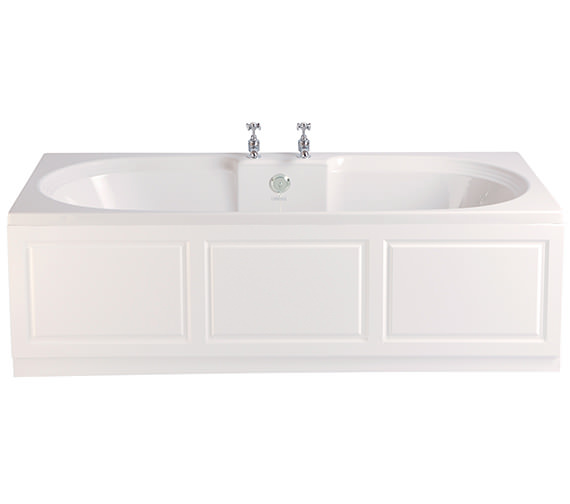 Heritage Dorchester 1700 x 750mm Acrylic Solid Skin Double Ended Bath