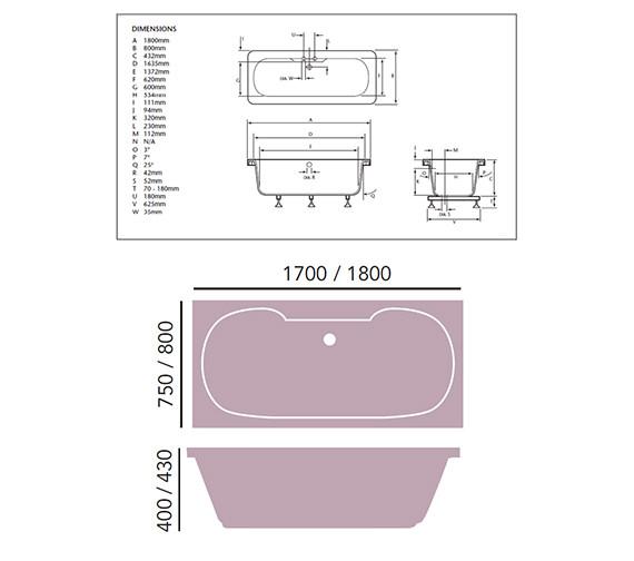 Technical drawing QS-V76036 / BRW00SS