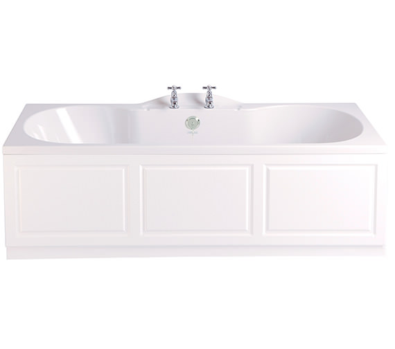 Heritage Claverton 1700 x 750mm Acrylic Double Ended Fitted Bath