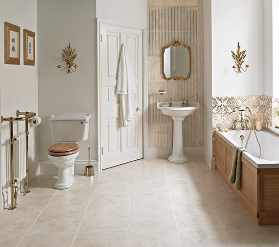 Heritage Dorchester Traditional Bathroom Suite