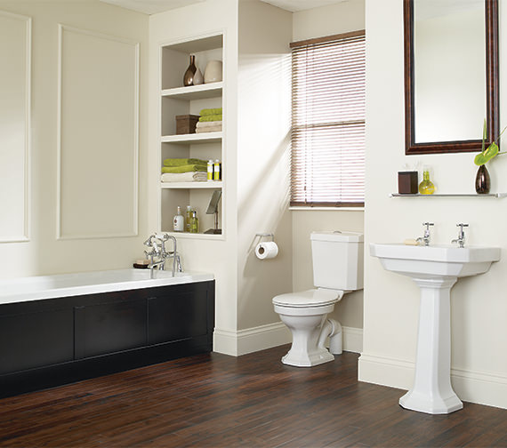 Heritage Granley Deco Traditional Bathroom Suite