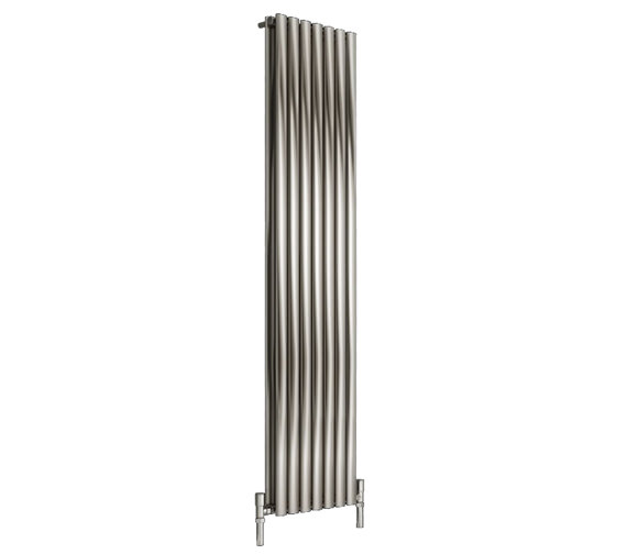 Reina Nerox Double Brushed Vertical Radiator 295 x 1800-RNS-NRX1805SD