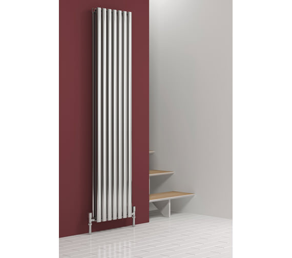 Alternate image of Reina Nerox Double Polished Vertical Radiator 295 x 1800-RNS-NRX1805PD