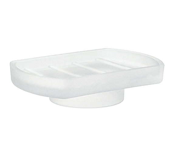 Smedbo Xtra Spare Frosted Glass Soap Dish Only