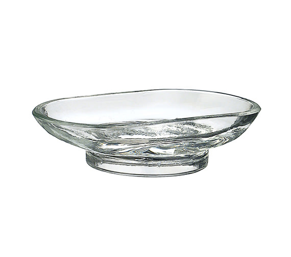 Smedbo Xtra Spare Clear Glass Dish Only