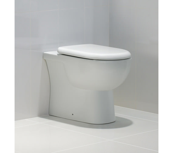 Rak Tonique Back To Wall Wc Pan With Soft Close Toilet