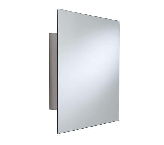 Croydex Dart Stainless Steel Square Door Mirror Cabinet - WC450505