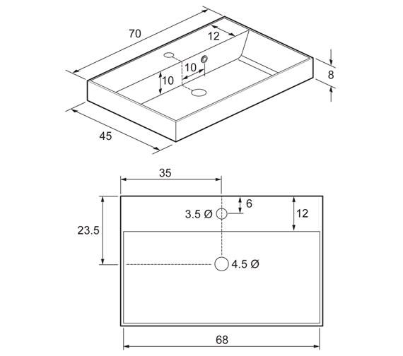 Technical drawing QS-V17153 / DE0510SRW
