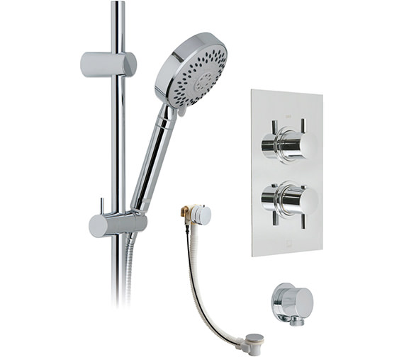 Vado Celsius Neptune Rectangle Thermostatic Shower And