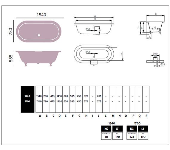 Technical drawing QS-V76559 / BRT87