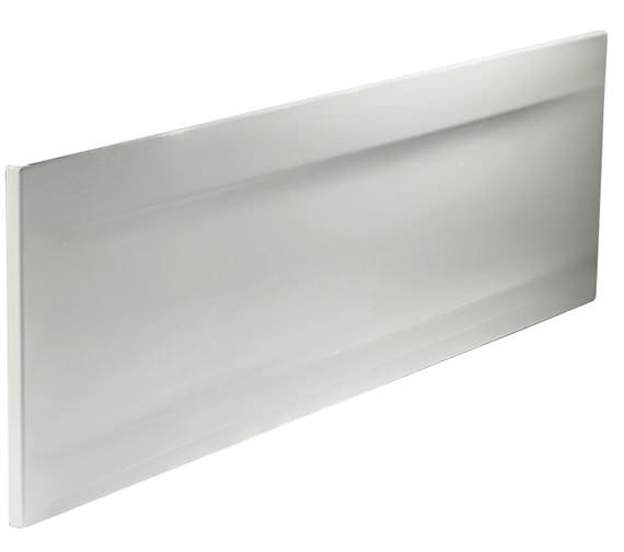Twyford Callisto Galerie White 510mm Height Front Bath Panel