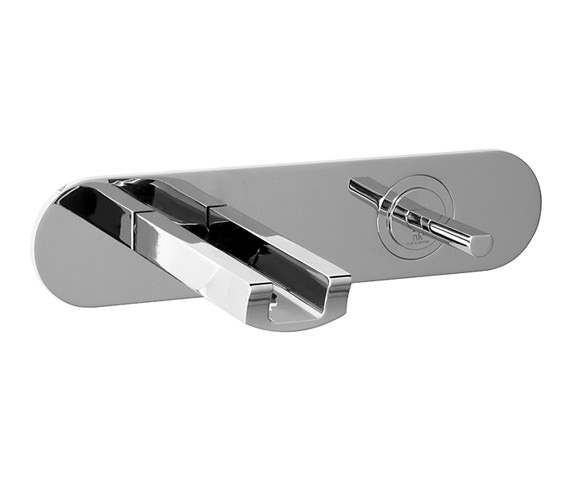 Porcelanosa Noken Nora Wall Mounted Single Lever Basin Mixer Tap