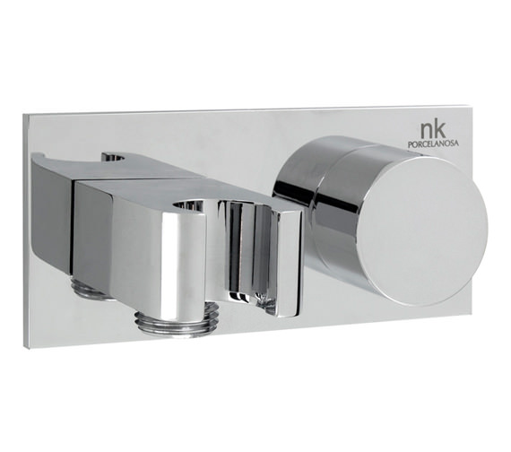 porcelanosa noken giro hand shower wall outlet holder and way diverter