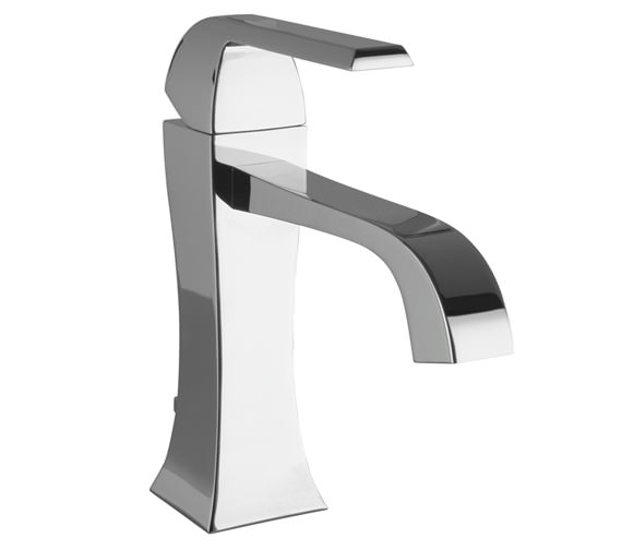 Porcelanosa Noken Dune Single Lever Chrome Basin Mixer Tap And Waste