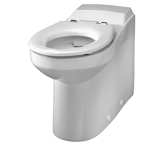 Twyford Avalon Rimless Back-To-Wall WC Pan 700mm - AV1498WH