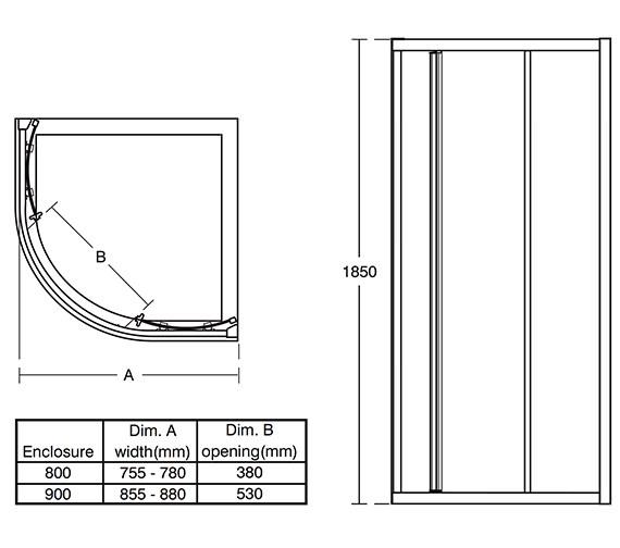 Technical drawing QS-V76842 / L6640VA