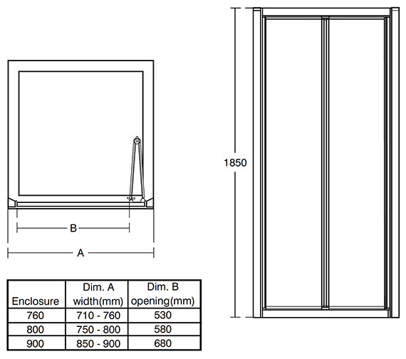 Technical drawing QS-V76848 / L6646VA