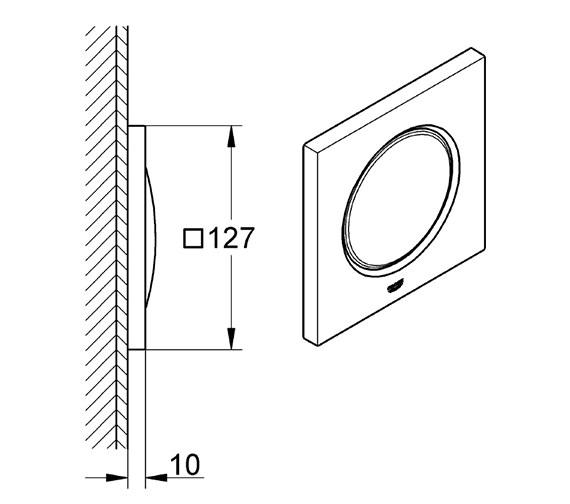 Technical drawing QS-V76924 / 36359000