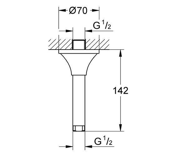 Technical drawing QS-V76933 / 27978000