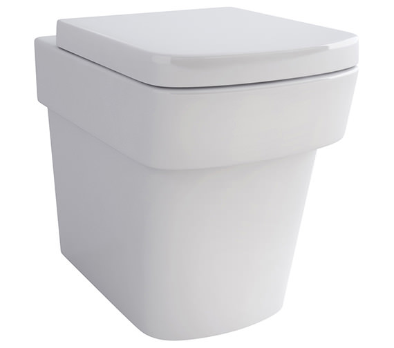 Pura Bloque Back-To-Wall WC Bowl And Soft Close Seat 540mm