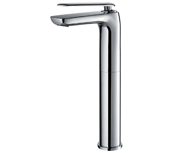 Additional image of Flova Allore Basin Mixer Tap With Clicker Waste