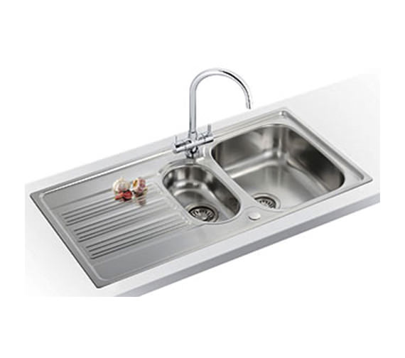 Franke Galileo Propack GOX 651 1.5 Bowl Stainless Steel Sink And Tap ...