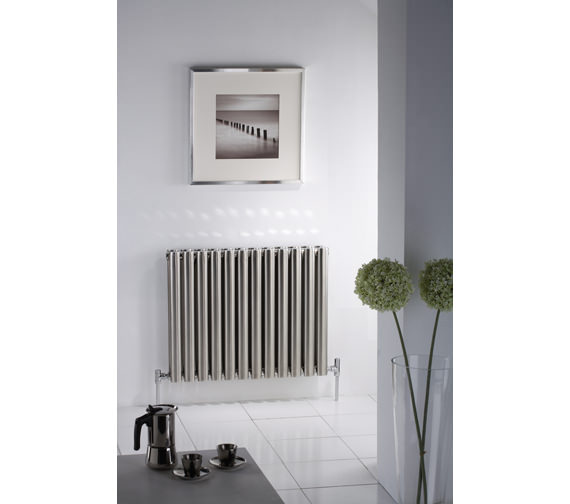 MHS Arc Double Designer Radiator 570 x 600mm - ARD 03 1 060057