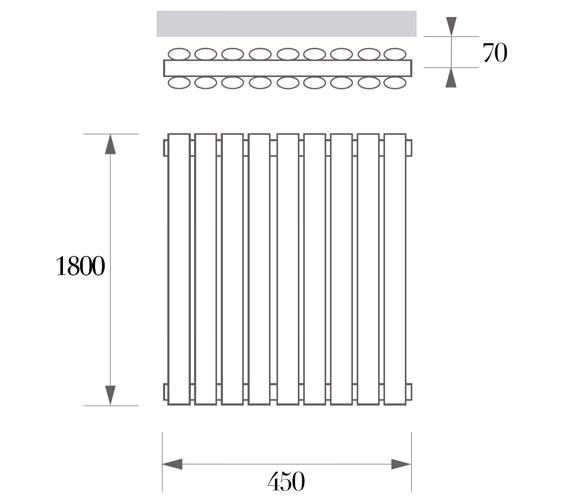 Technical drawing QS-V77146 / ARD 03 1 180045