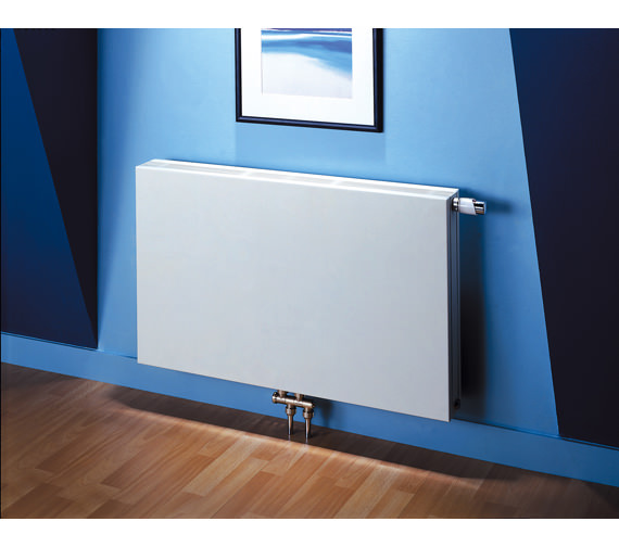 MHS Carat Horizontal Double Panel Designer Radiator 605 x 400mm