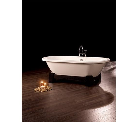 Royce Morgan Osaka Double Ended Bath 1750 x 790mm - Dark Oak