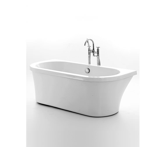 Royce Morgan Kirkstall Back To Wall Freestanding Bath 1680 x 780mm