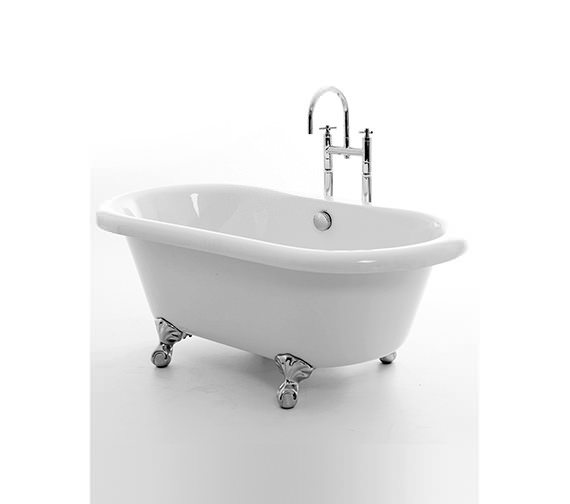 Royce Morgan Miami Double Ended Bath 1525 x 780mm With Feet