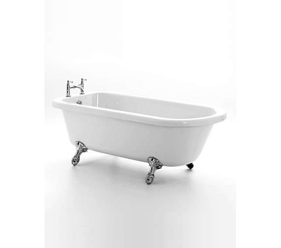 Royce Morgan Lambeth Single Ended Bath 1665 x 715mm With Feet