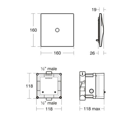 Technical drawing QS-V77847 / A4189XJ