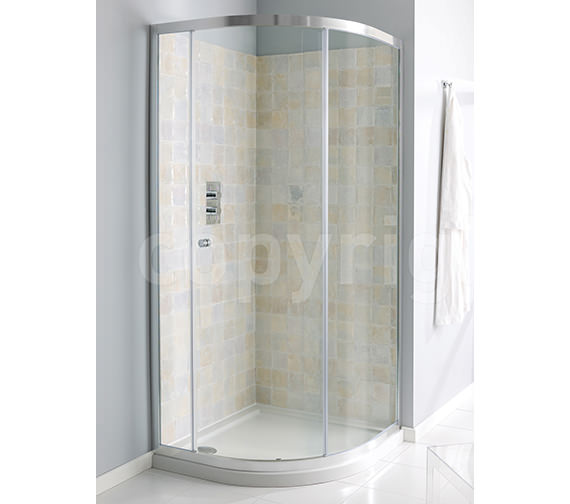 Simpsons Edge Single Door Quadrant Enclosure 800mm - EQSSC0800