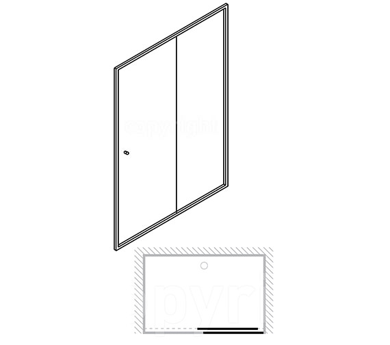 Technical drawing QS-V77874 / ESLSC1000