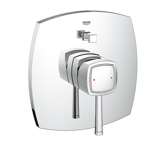 Grohe Spa Grandera Single Lever Chrome Bath Shower Mixer Trim With Diverter