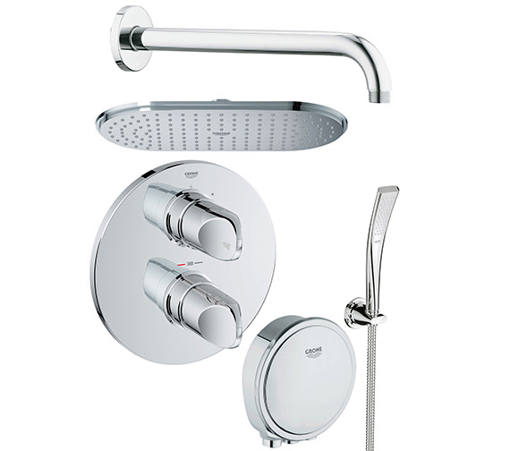 Grohe Spa Veris Bath And Shower Solution Pack 6 - 118331