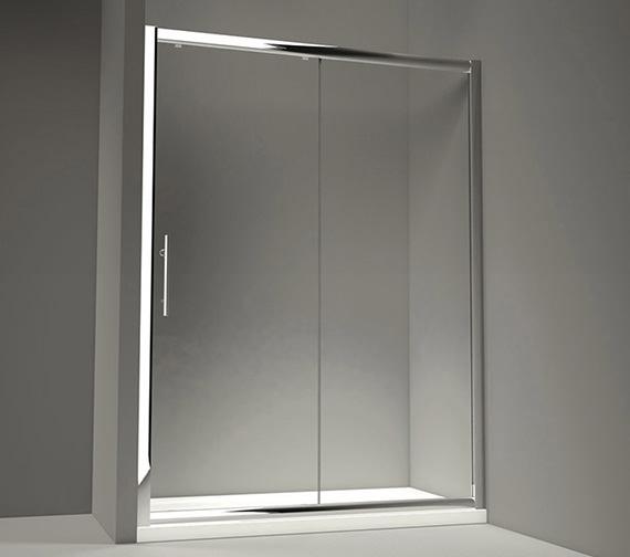Merlyn 8 Series 1000 x 1950mm Sliding Shower Door