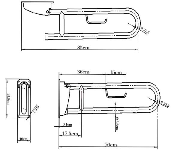 Technical drawing QS-V78091 / GR001