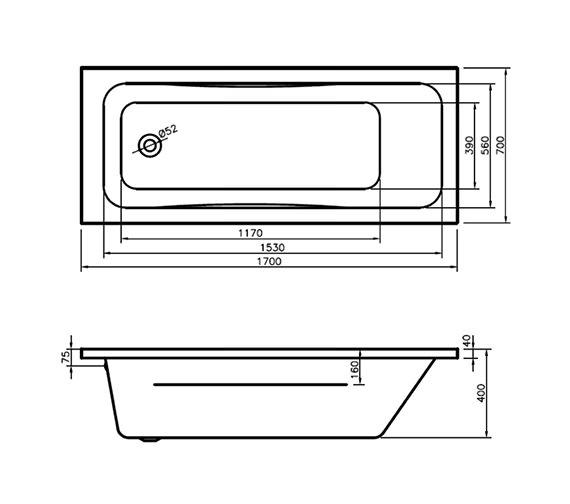 Technical drawing QS-V29963 / BH064S2