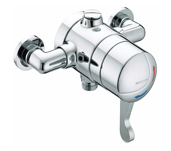 Bristan Gummers Opac Exposed Shower Valve with Chrome Lever