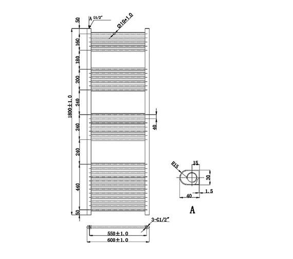 Technical drawing QS-V78427 / EA403