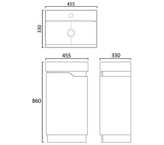 Technical drawing QS-V78447 / EG45FW
