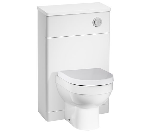 Tavistock Desire 500mm White Back To Wall WC Unit - DS5BTWW