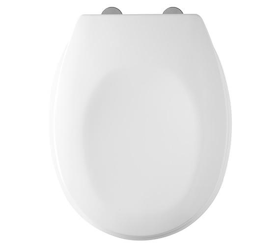 Tavistock Verve Heavy-Duty Thermoset Plastic Toilet Seat With Swivel Hinges