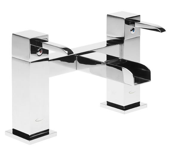 Tavistock Q60 Chrome Plated Deck Mounted Bath Filler Tap - TQ32