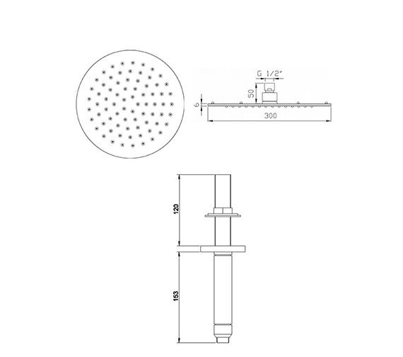 Technical drawing QS-V78572 / HEAD26
